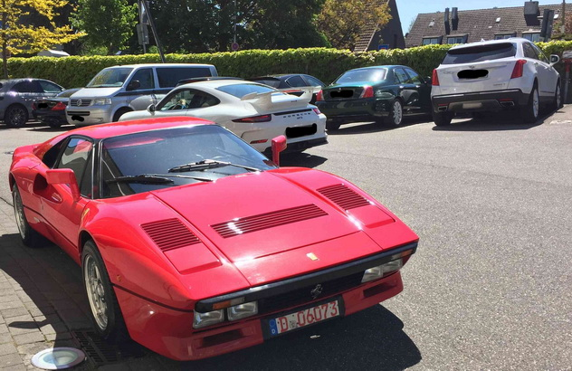 В Германии с тест-драйва угнали редкую Ferrari