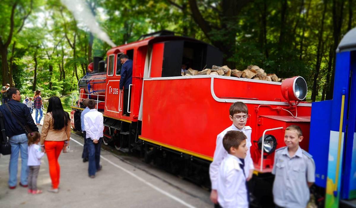Летний сезон Киевской детской железной дороги начнется в День защиты детей