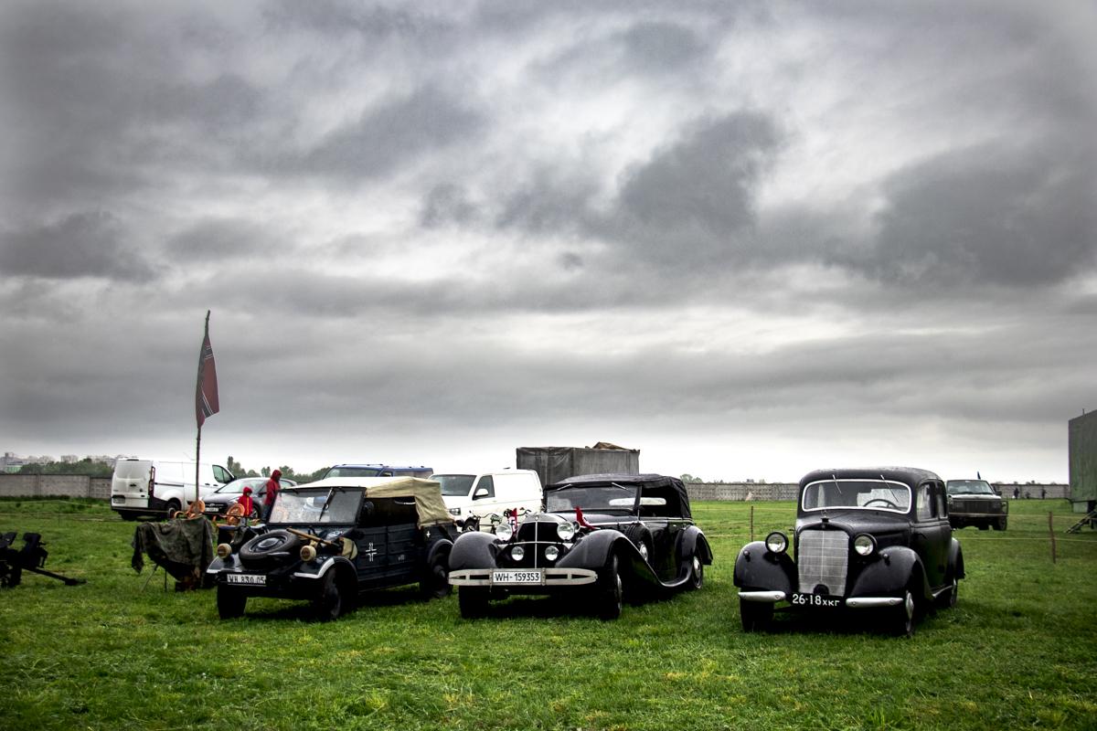 На территории музея авиации в Киеве 9 мая прошло открытие юбилейного фестиваля Old Car Land