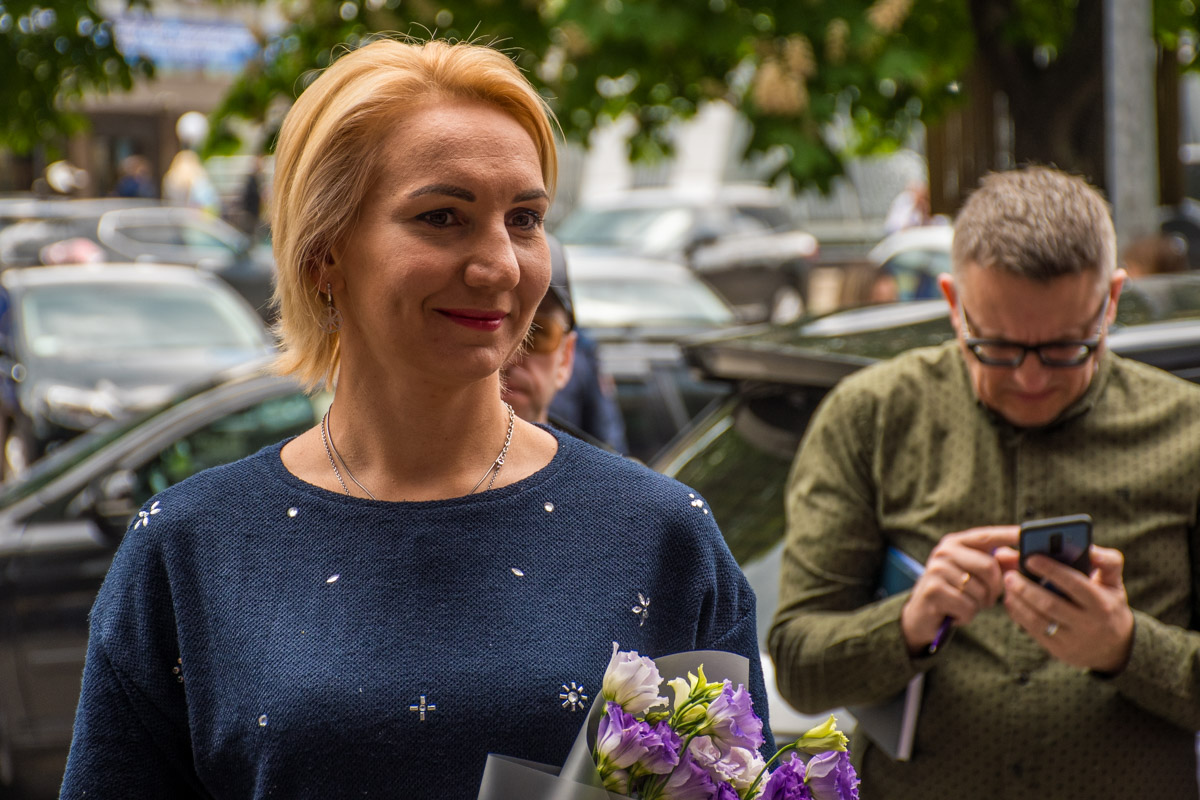 "Елена Пидгрушная также получила свою звезду на ""Площади"""