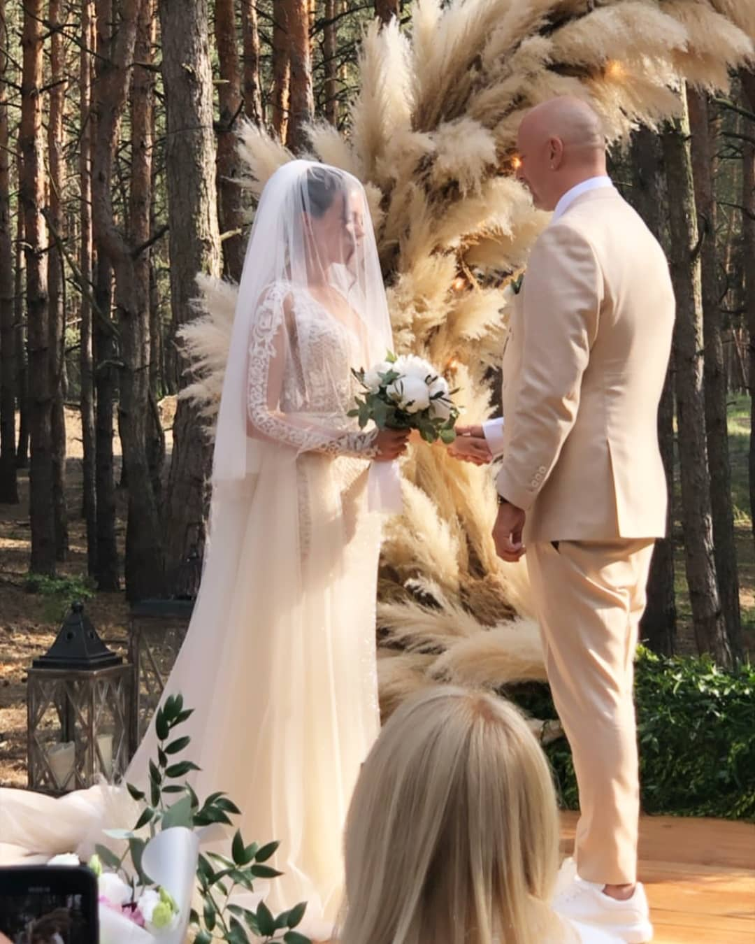Свадьба Потапа и Насти была максимально приближена к романтическому идеалу