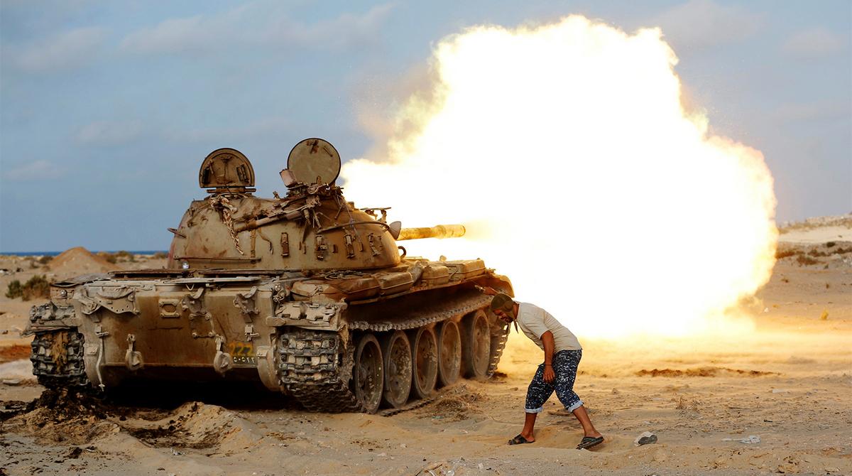 Не менее 510 человек стали жертвами вооруженных столкновений в районе столицы Ливии