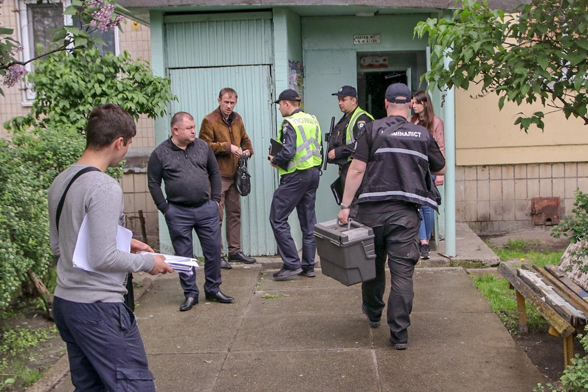 В Днепровском районе Киева произошло трагическое происшествие