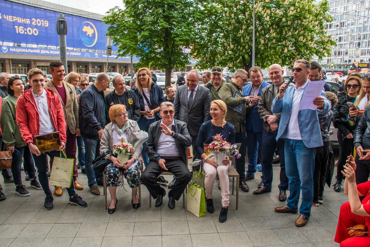 Новые звезды посвящены Олегу Блохину, Елене Пидгрушной и памяти Валерия Лобановского