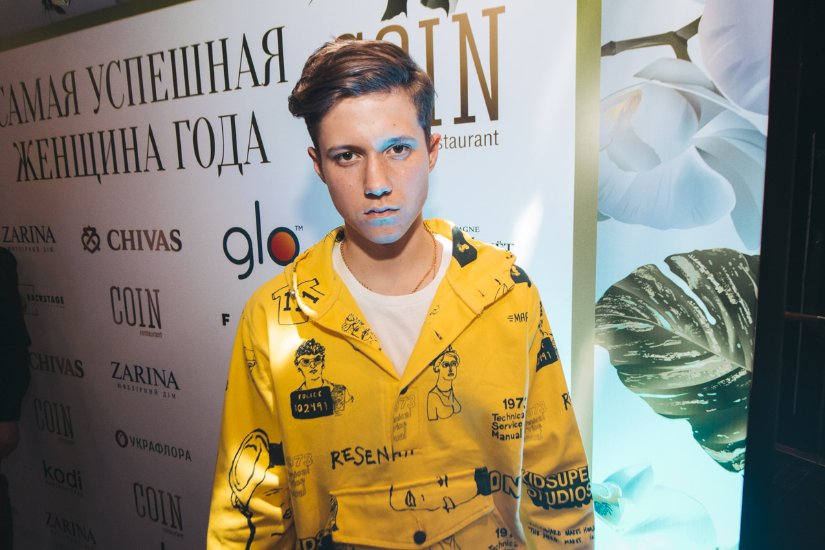 "Певец и актер сериала ""Школа"" Андрей Бойко"