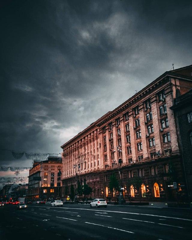 Дождь - это красиво. Фото: @p_belskyi