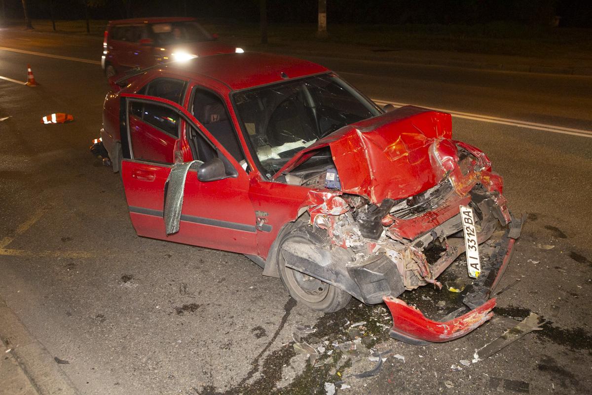 К счастью, водитель легкового авто не пострадал