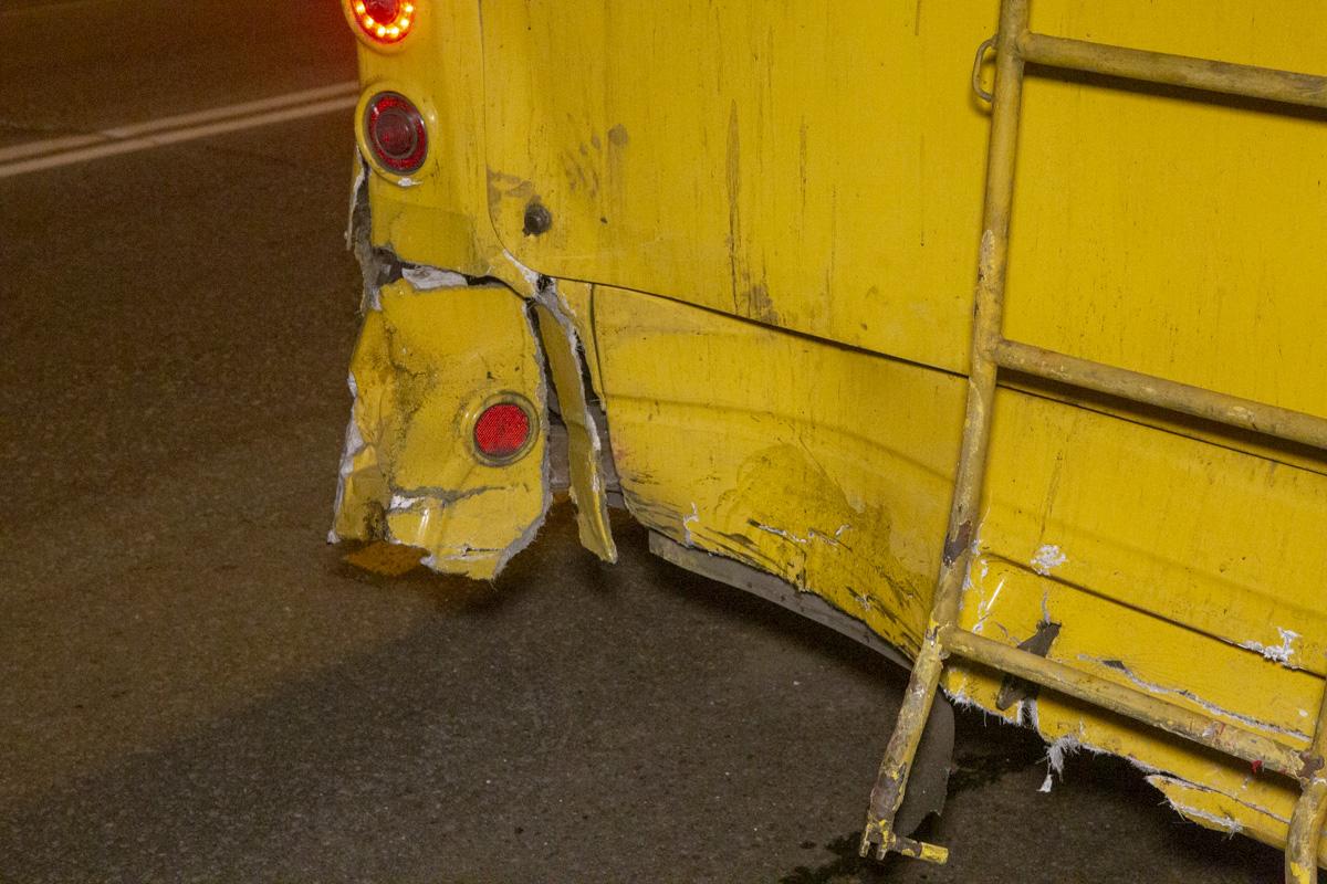 Пассажиры троллейбуса также не травмировались