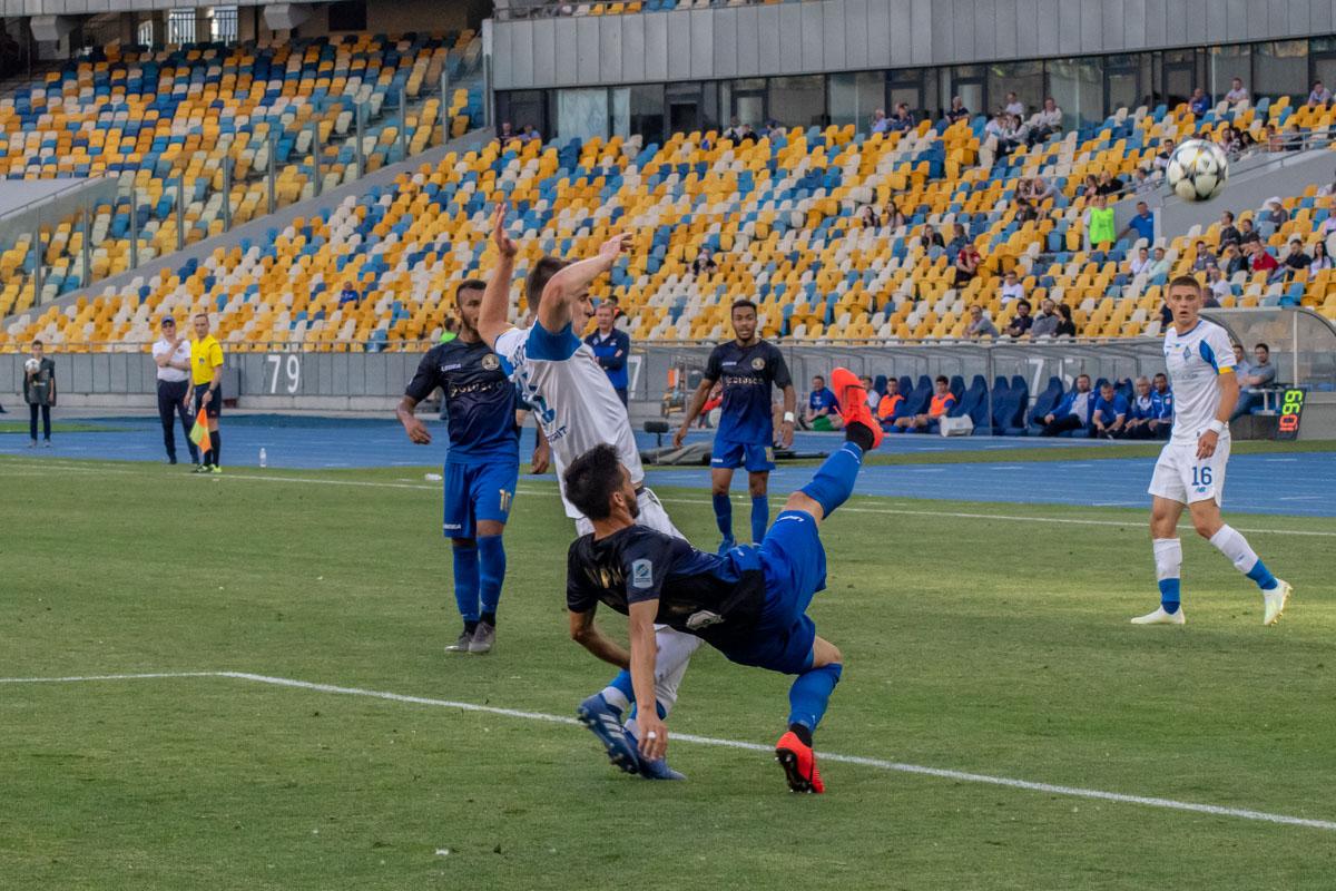 Беседин стал одним из героев матча