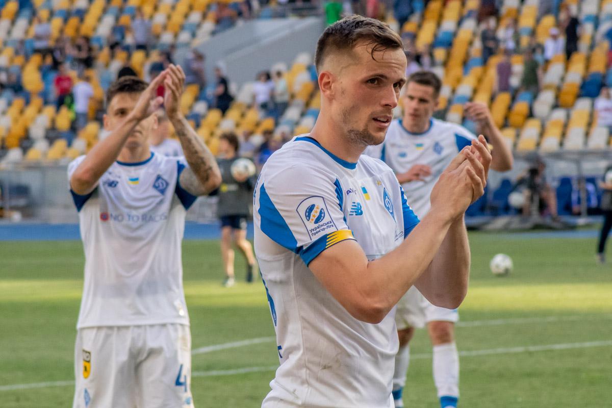 """Игроки """"Динамо"""" поблагодарили болельщиков за поддержку в последнем домашнем матче сезона"""