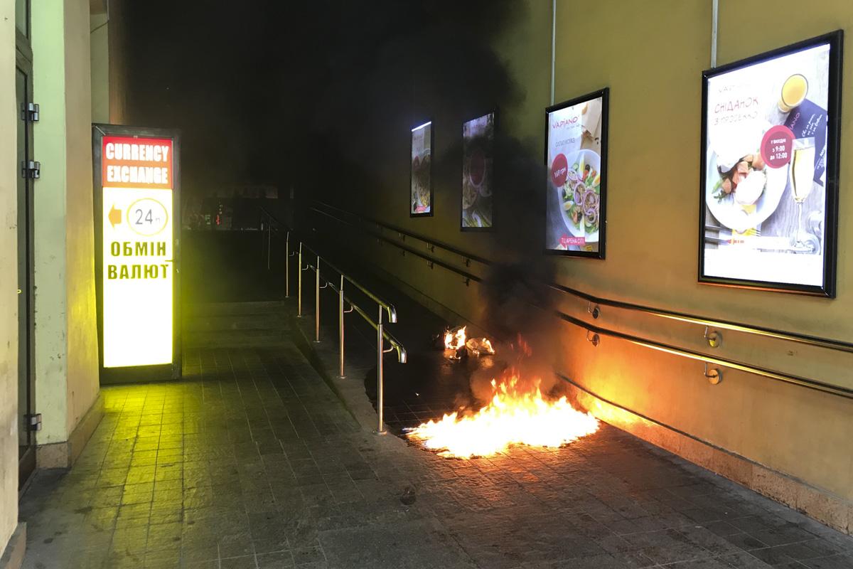 """6 мая в самом центре Киева в БЦ """"Арена Сити"""" прогремел взрыв"""