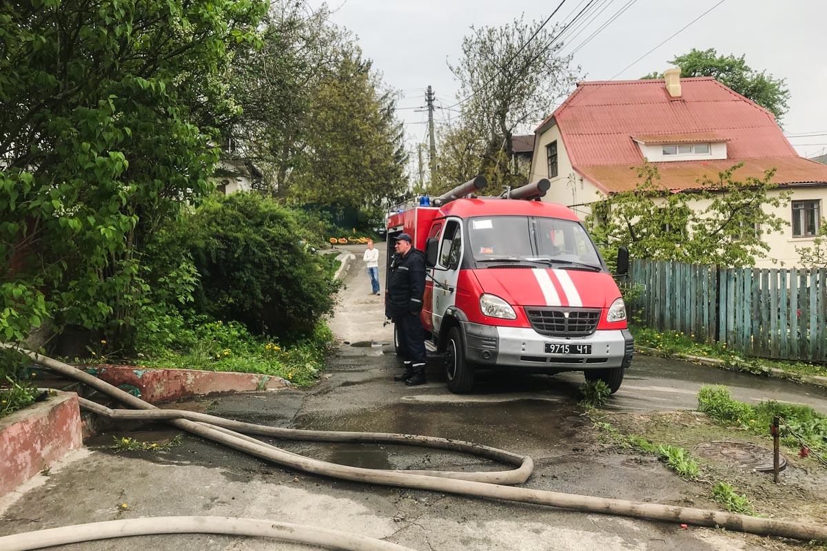 В пятницу, 3 мая, в Киеве по адресу улица Холмогорская, 17 произошел пожар