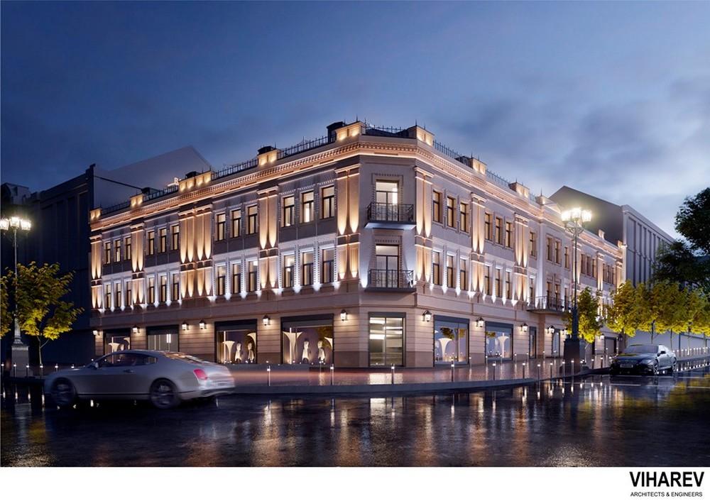 Здание получит стеклянную крышу с ресторанами и смотровой площадкой