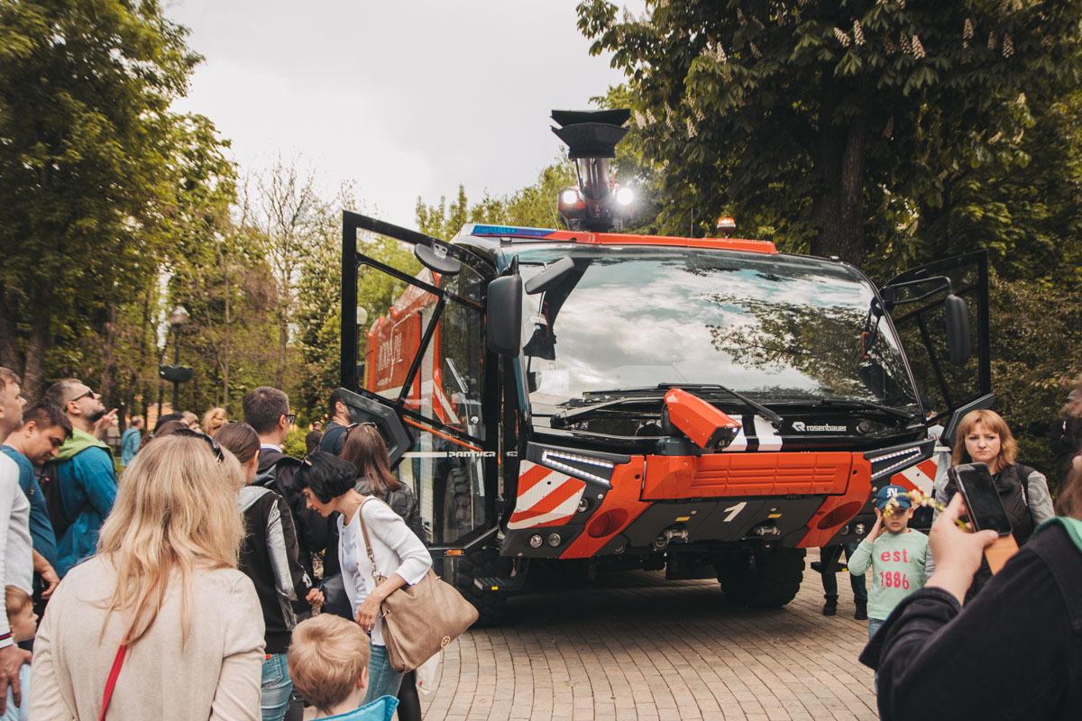 Такую пожарную машину видели не все