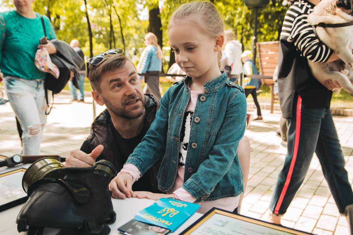 Специалисты рассказывали малышам о своей работе