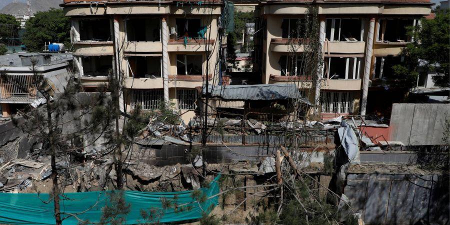 В Кабуле в результате атаки террористической группировки Талибан погибли девять человек