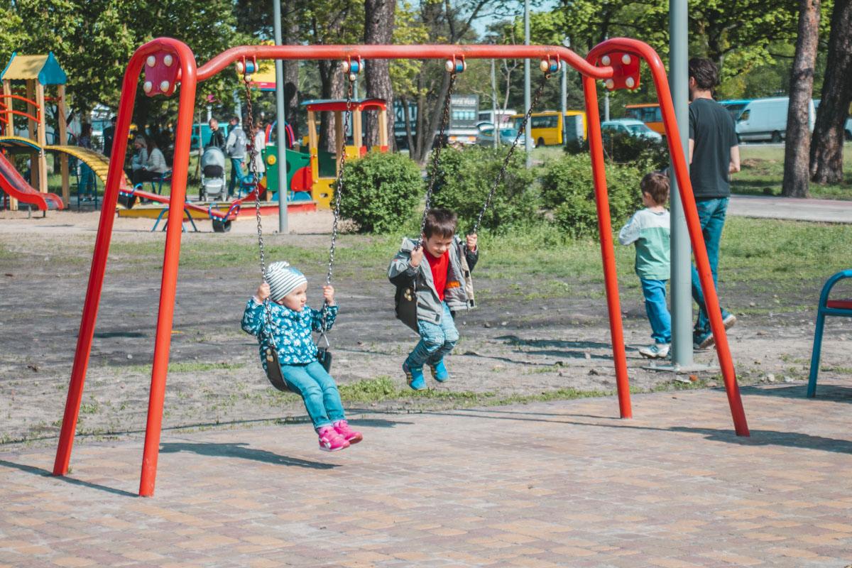 """Также в """"Киото"""" установят детскую площадку"""
