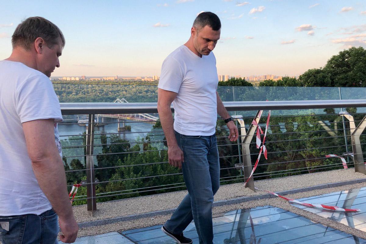 Он призвал жителей Киева не занимать вандализмом и беречь новые постройки города