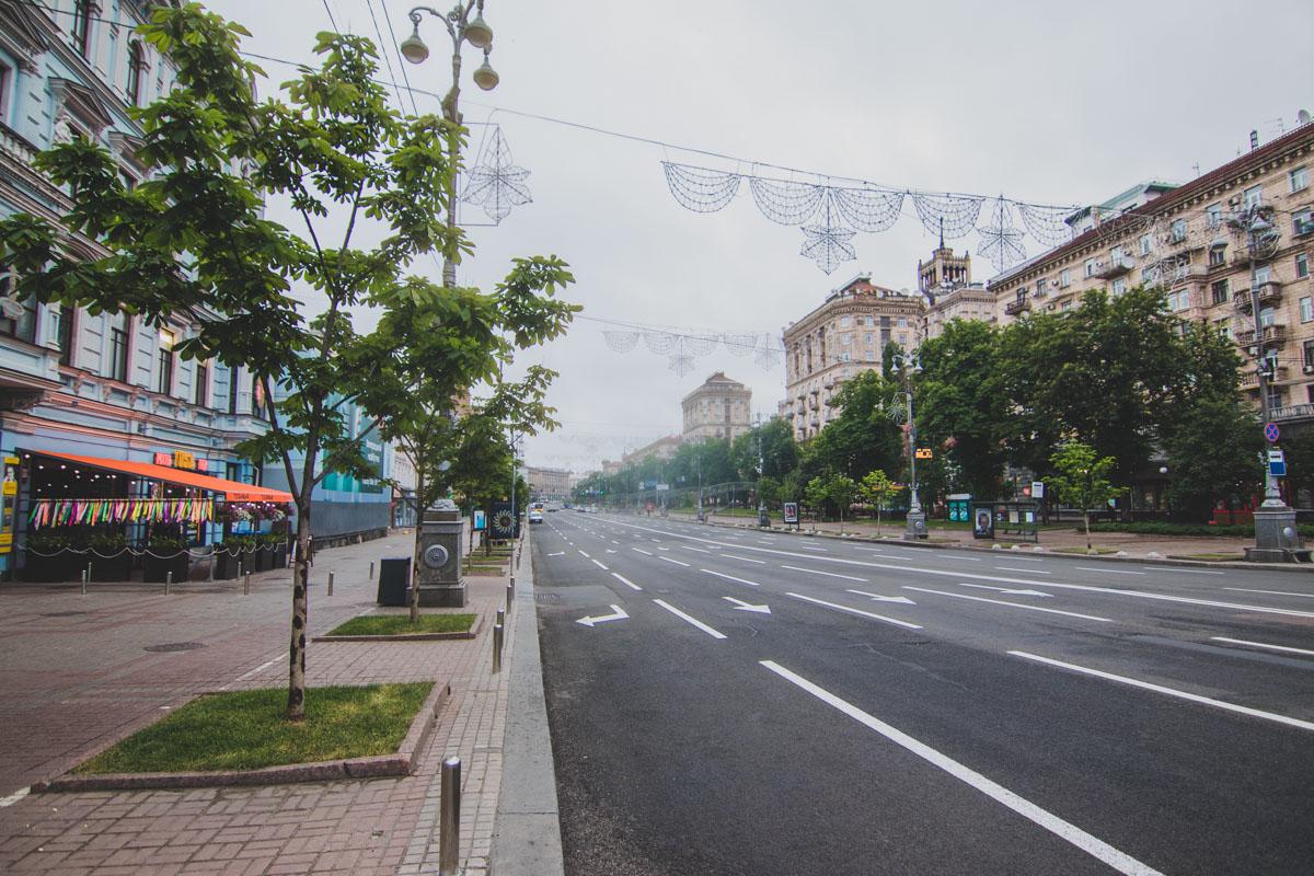 Утро в этот день оказалось поистине весенним - немного дождливым и прохладным