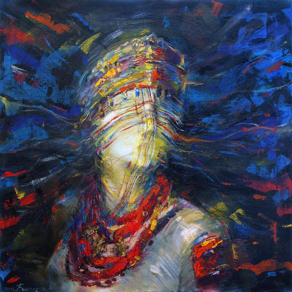 Одна из самых ярких современных художниц Украины - Марта Бельмега