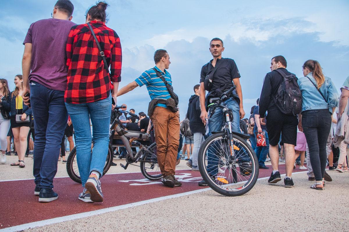 Для велосипедистов новый объект - раздолье