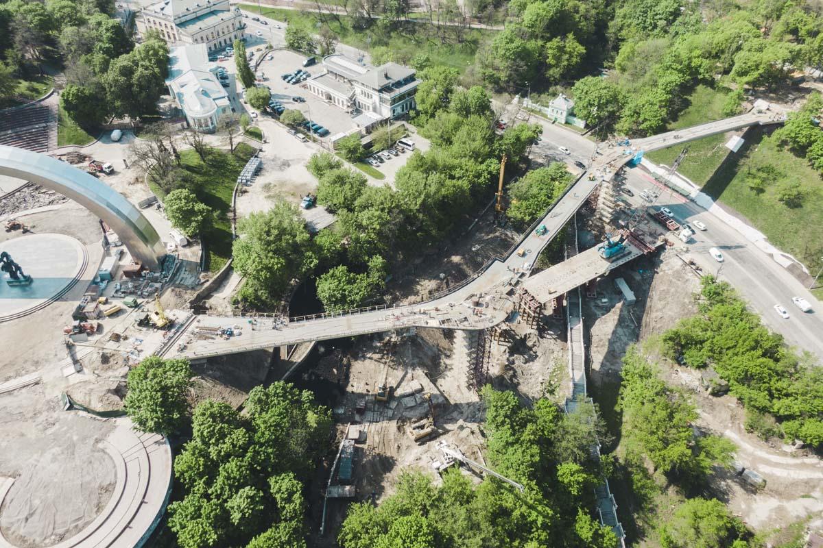 Жители и гости Киева смогут будет увидеть Подол, Печерск и Левый берег с высоты