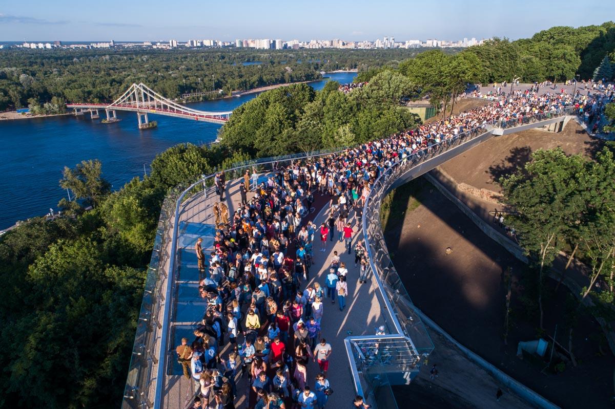 Открытие моста состоялось еще 25 мая