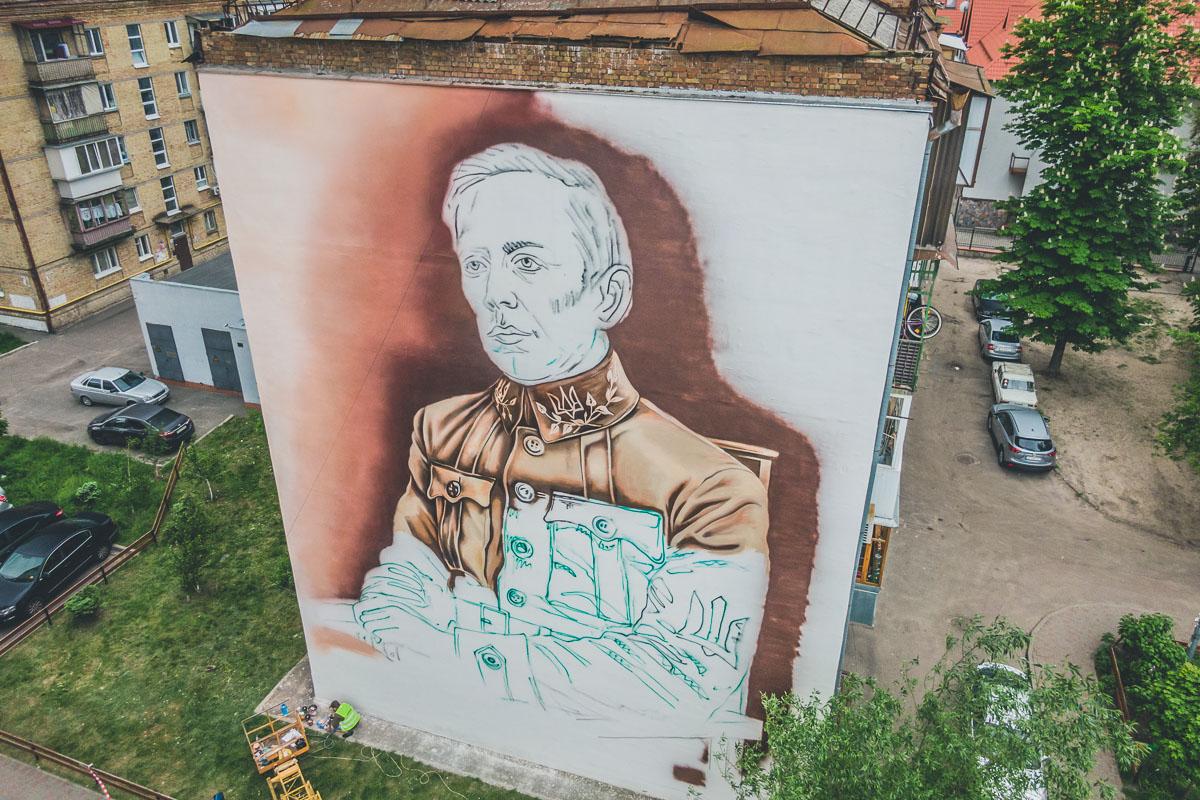 """Создав портрет Петлюры, художники хотят донести до жителей нашей страны, что нельзя вешать ярлыки """"хорошо"""" или """"плохо"""""""