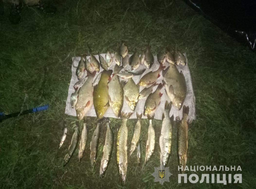 Всего улов составил около 10 килограмм рыбы