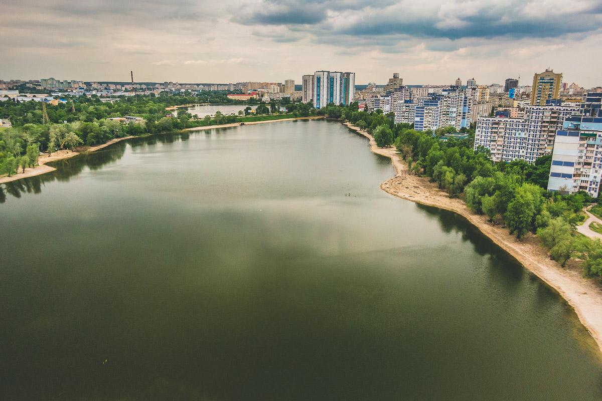 За живописный вид в парке будут два озера - Кирилловское и Иорданское
