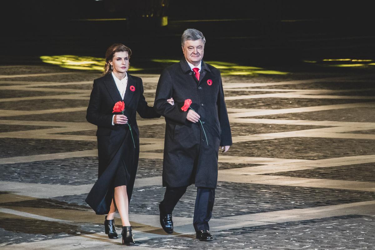 На мероприятии побывал Петр Порошенко вместе с супругой