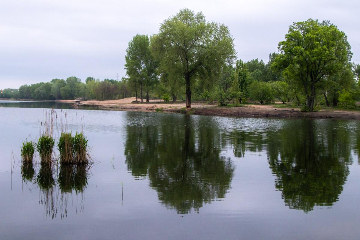 Кирилловское озеро раскатилось между Оболонским проспектом и улицей Богатырской