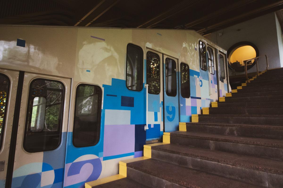 Еще до середины 1930-х годов фуникулер являлся трамвайным маршрутом и имел номер