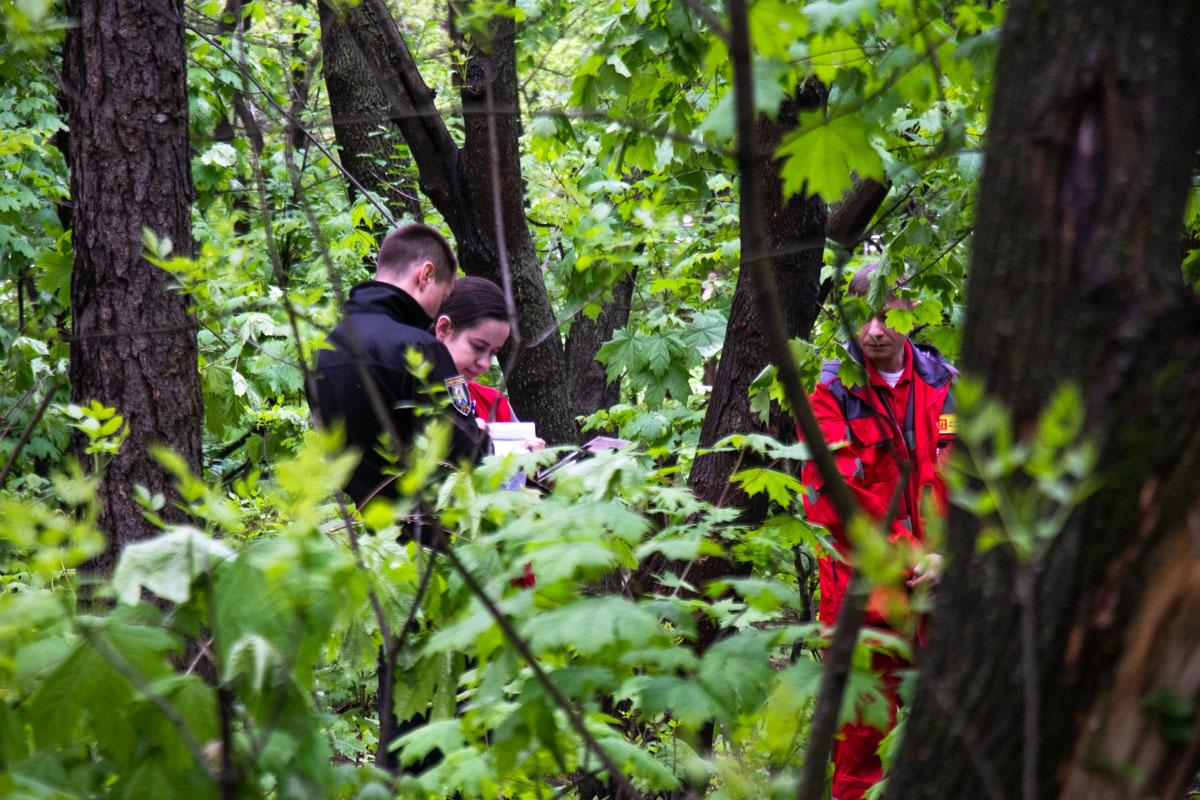 Тело находилось в лесопарковой зоне