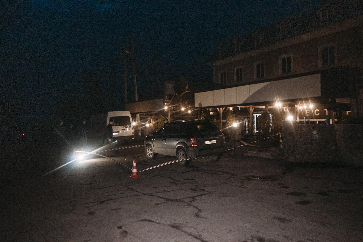 Под Киевом в городе Барышевка прозвучали выстрелы