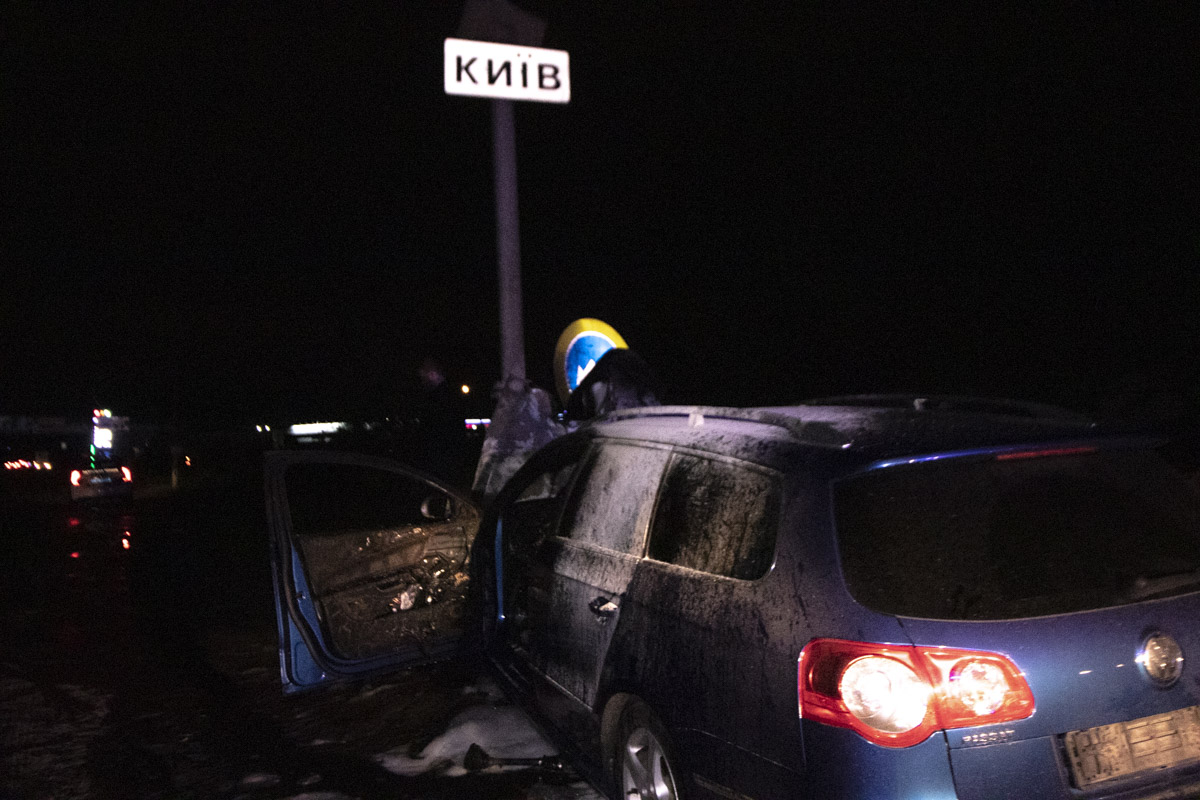 По словам водителяVolkswagen Passat, он с пассажиром двигался по улице Вячеслава Черновола со стороны города Вишневое