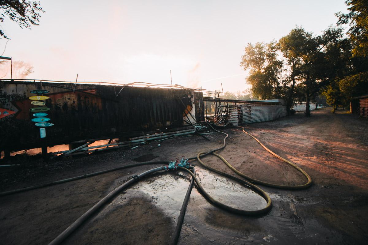 Детали и причины возникновения пожара установит следствие