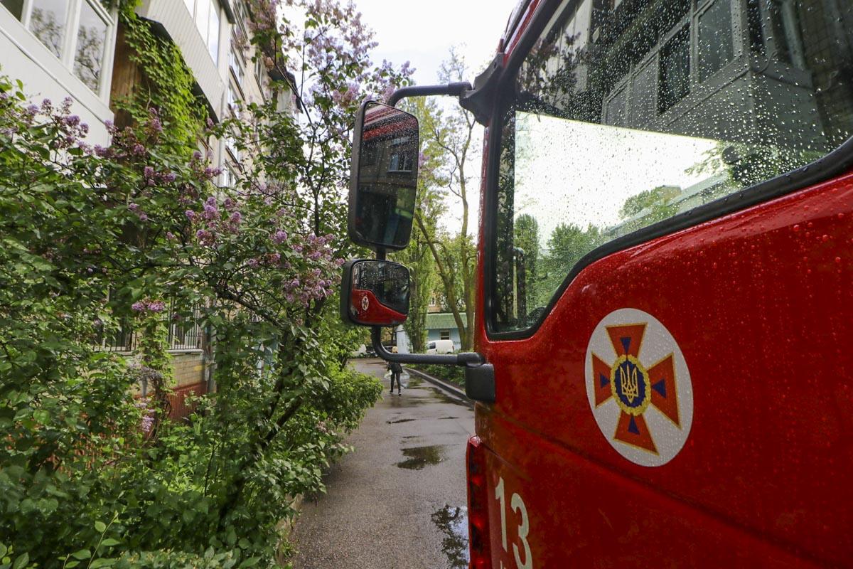 На месте работали три единицы техники и 13 человек личного состава спасателей
