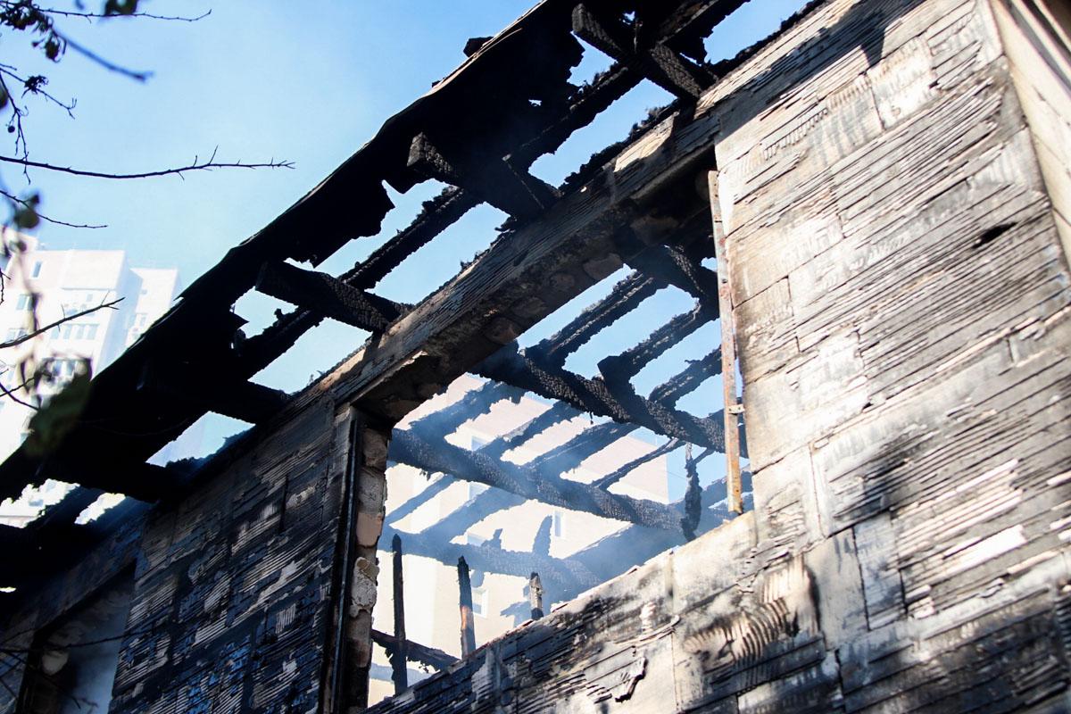 Здания серьезно пострадали