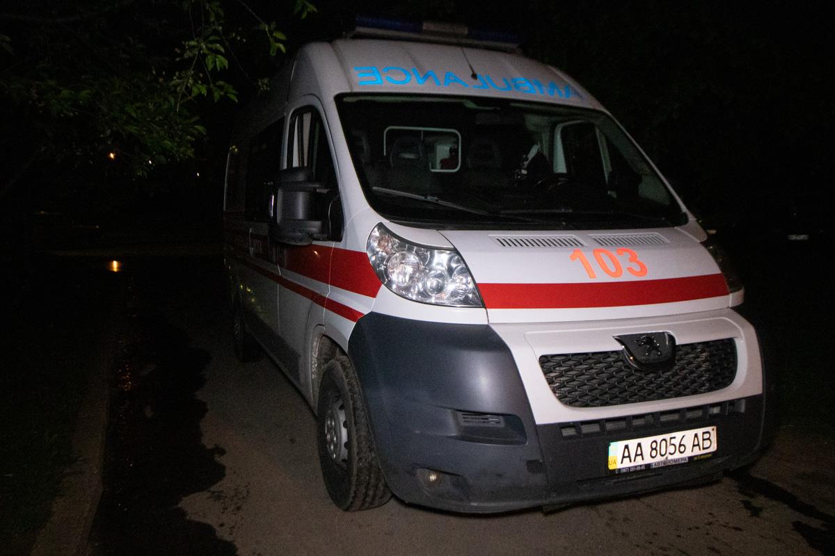 На месте работали спасатели, медики и патрульные