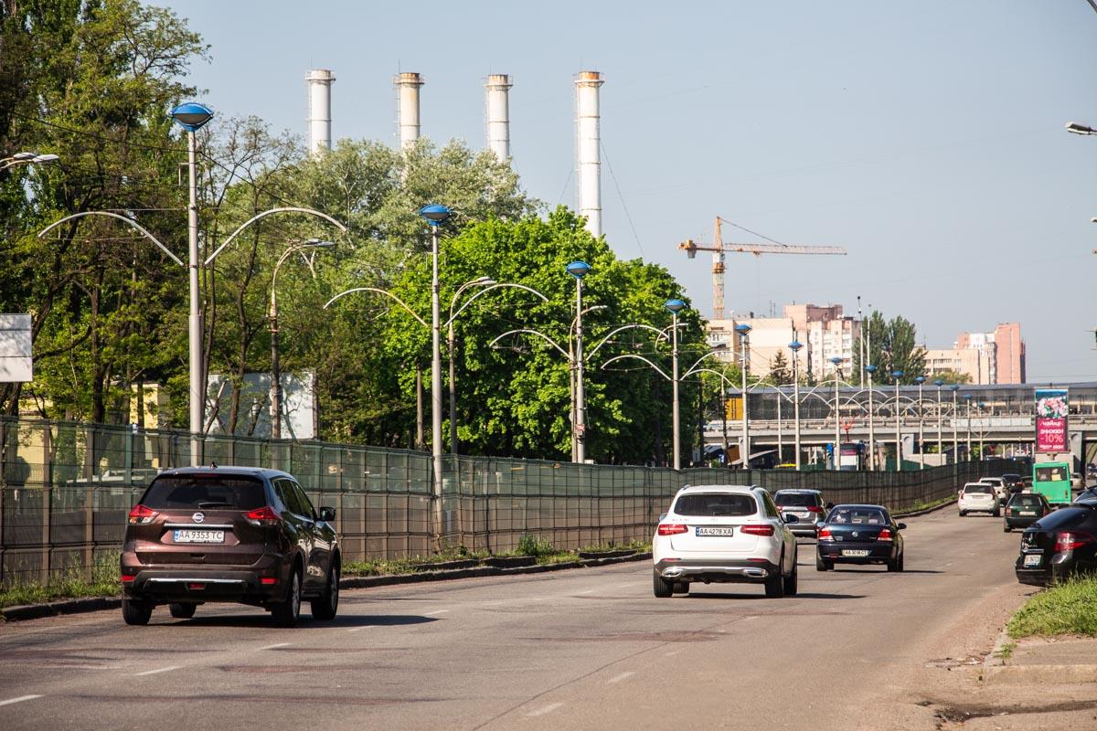 В Киеве отремонтируют проспект Космонавта Комарова