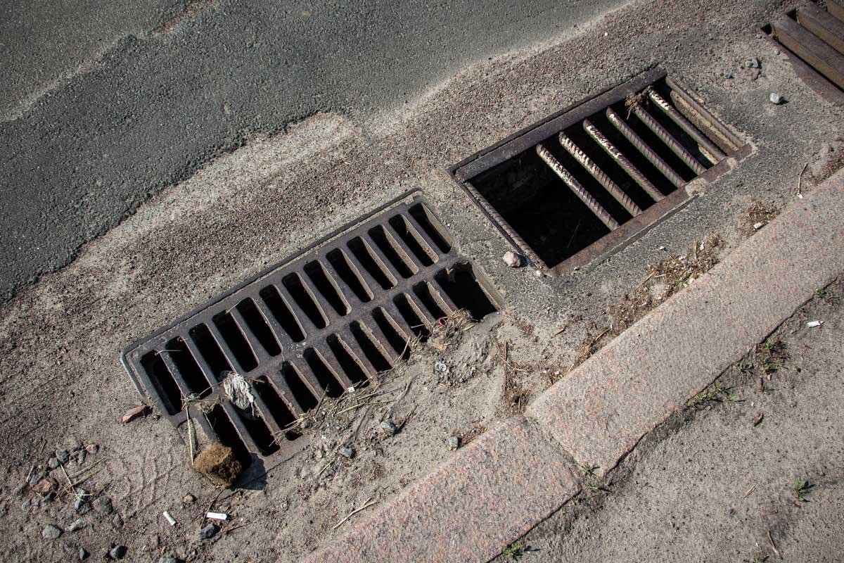 Дождевая канализация справляется не полностью