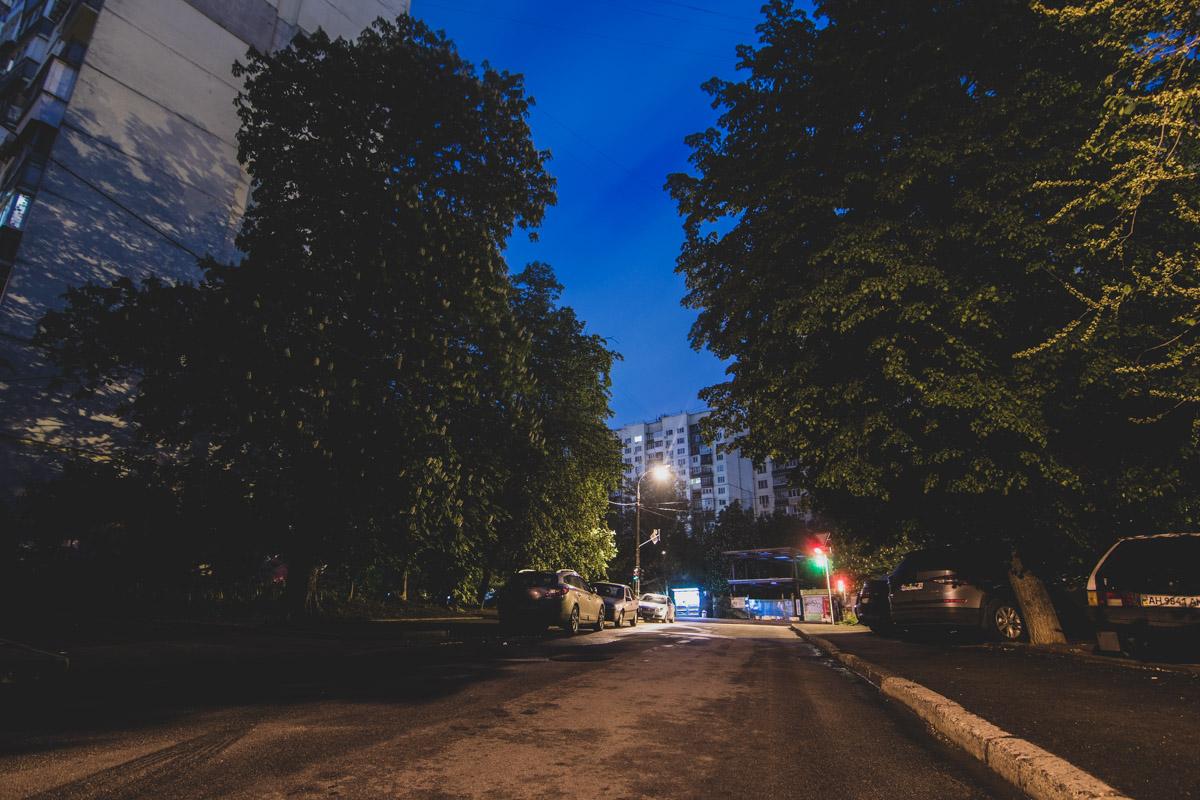 Пересечение улицы Скрипника с улицей Стадионной
