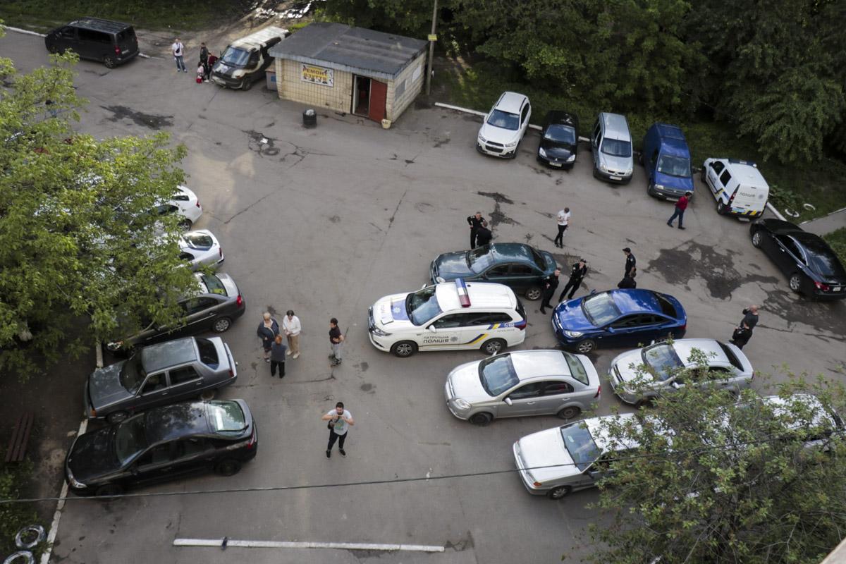 Происшествие случилось на Теремках