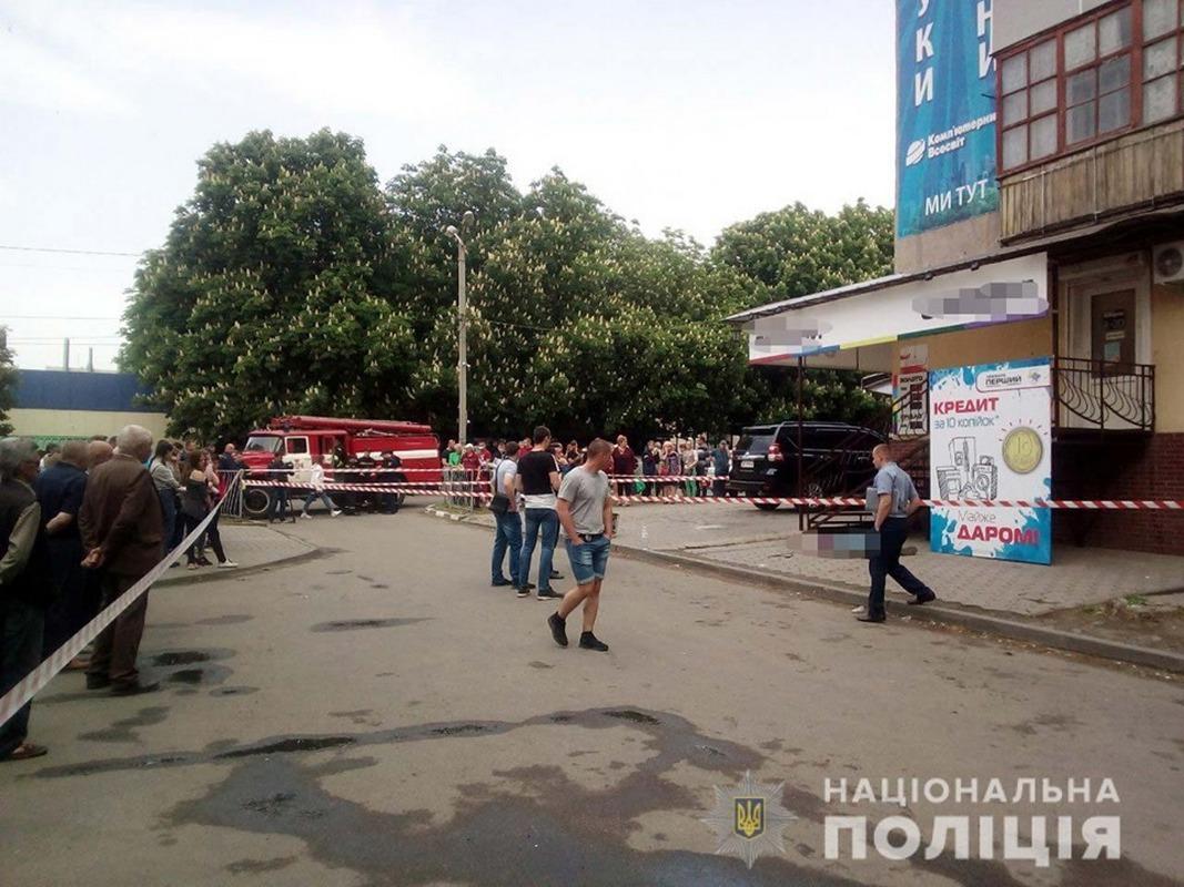 В Марганце посреди улицы взорвалась граната