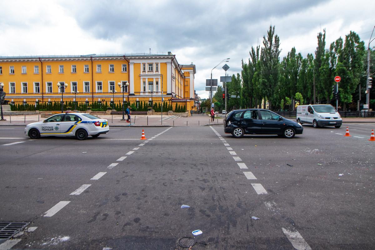 В пятницу, 28 июня, в Киеве не обошлось без аварий