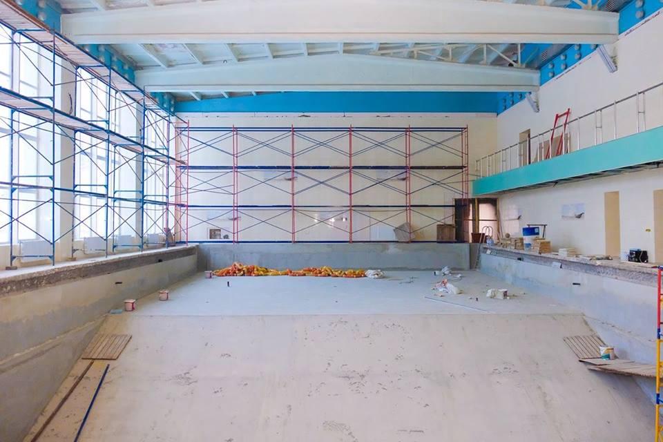Реконструкция бассейна в школе-интернате № 3 в Днепре