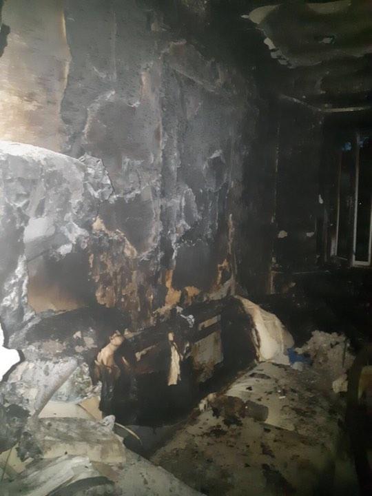 Во вторник, 11 июня, в Соломенском районе Киева произошел пожар