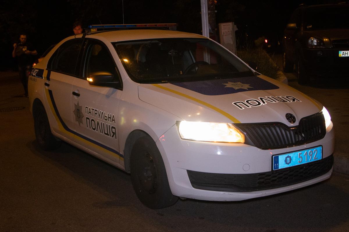 На пересечении улиц Липковского и Стадионной произошла авария с участием автомобиля полиции ToyotaPrius и Skoda