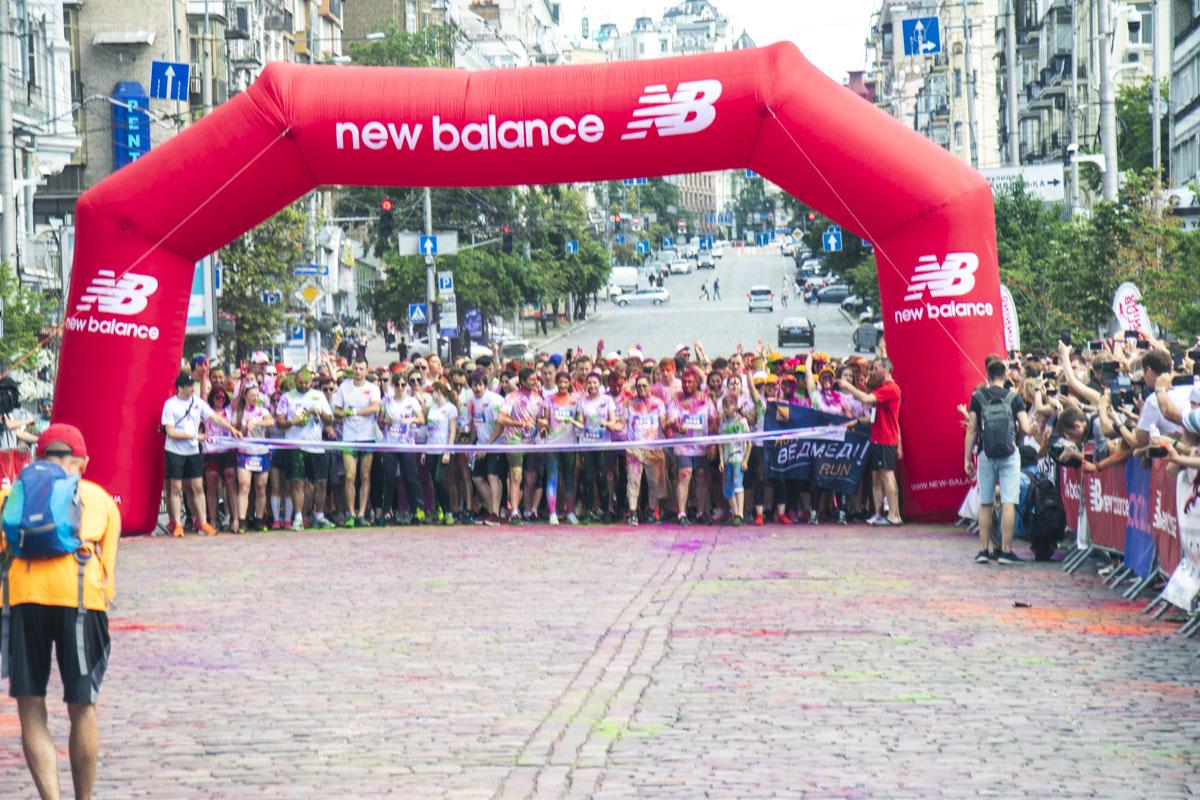 Ведь в воскресенье на Троицкой площади и на улице Большой Васильковской проходилKyiv Color Run 2019